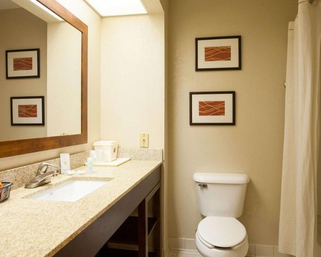 Quality Inn and Suites I-40 East - North Little Rock - Salle de bain