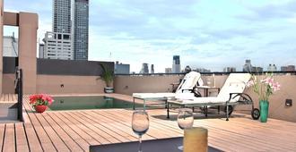 Be Hollywood Hotel - בואנוס איירס - מרפסת
