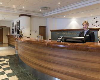 Quality Hotel Grand Boras - Borås - Recepce