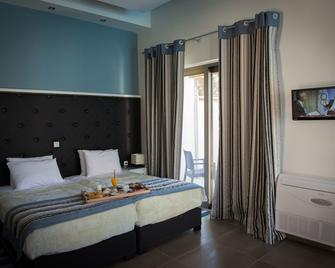 Mantinia Bay Hotel - Kalamata - Yatak Odası
