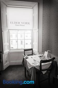 Elder York Guest House - Edinburgh - Phòng ăn
