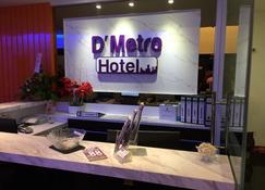 D'Metro Hotel - Shah Alam - Front desk