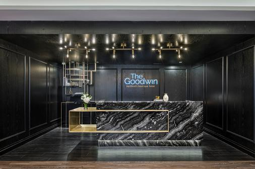 The Goodwin Hotel - Hartford - Front desk