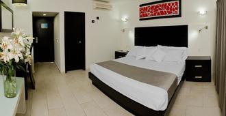Hotel Portonovo Plaza Expo - Guadalajara - Schlafzimmer