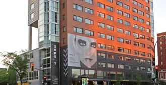 Hotel Zero 1 - Montréal - Bâtiment
