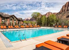 SpringHill Suites by Marriott Springdale Zion National Park - Спрингдейл - Бассейн