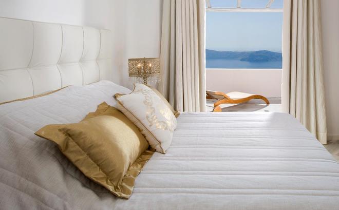 黃金套房 - 聖托里尼 - 希拉 - 臥室