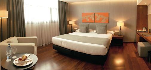 Hotel Carrís Marineda - La Coruña - Bedroom