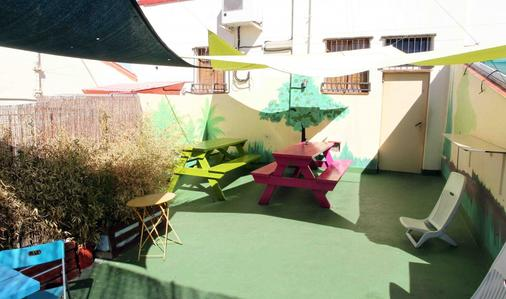 Red Nest Hostel - Valencia - Patio
