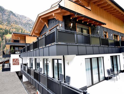 A Casa Rubin Chalet & Studio Resort - Sölden - Toà nhà