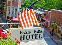 Basin Park Hotel and Spa - Eureka Springs - Building
