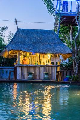 The Dafish Accommodation Bar & Cafe - Nusa Penida - Baari