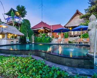 The Dafish Accommodation Bar & Cafe - Nusa Penida - Pool