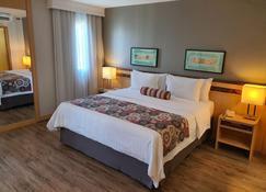 Lets Idea Brasília Hotel - Brasília - Schlafzimmer