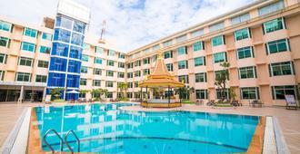 Phnom Penh Hotel - Nom Pen - Piscina