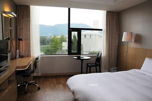 Hotel Avenue - Changwon - Bedroom