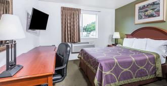 Super 8 by Wyndham Pittsburgh/Monroeville - Pittsburgh - Bedroom
