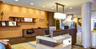 Fairfield Inn & Suites by Marriott Rochester Mayo Clinic Area/Saint Marys - רוצ'סטר - דלפק קבלה