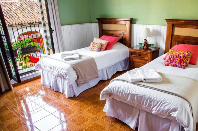 阿科民宿酒店 - 安地瓜古城 - 危地馬拉安地瓜 - 臥室
