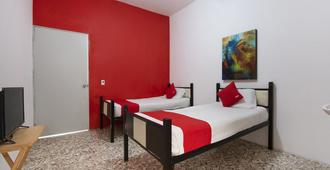Hotel Sf - Monterrey - Bedroom