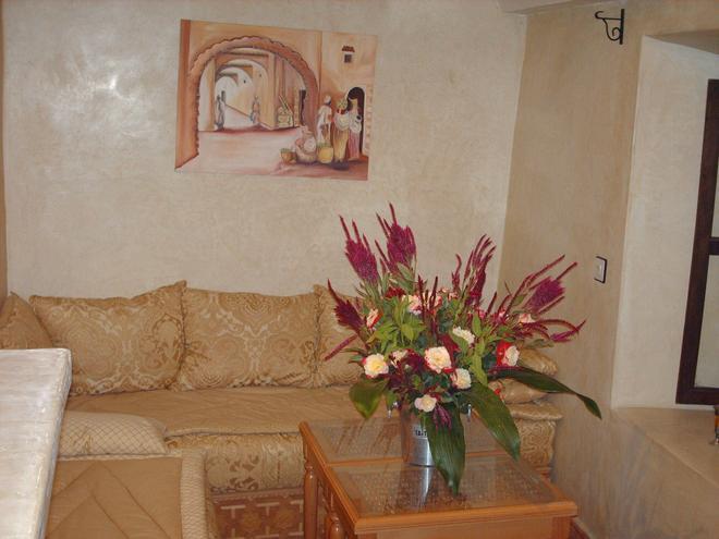 Riad Le Plein Sud - Marrakech - Olohuone
