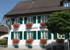 Velohotel Hirschen - Sciaffusa - Edifício