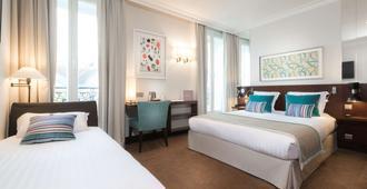 Montfleuri Hotel - Париж - Спальня