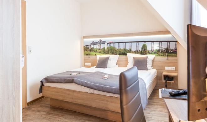 Hotel Hansen - Рендсбург - Спальня