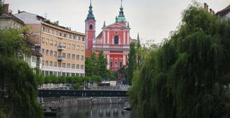 Antiq Palace Hotel And Spa - Ljubljana - Näkymät ulkona