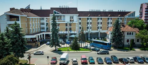 Hotel Coroana de Aur - Bistriţa - Building