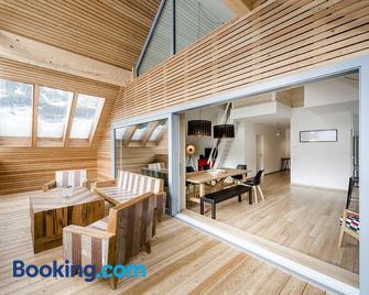 Fleischerei - Apartments, Cafe & Weinbar - Hinterstoder - Living room