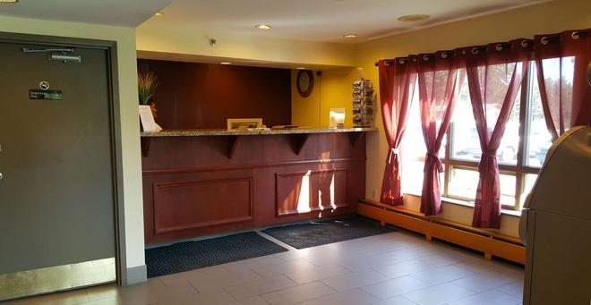 Americas Best Value Inn & Suites Anchorage Airport - Anchorage - Front desk