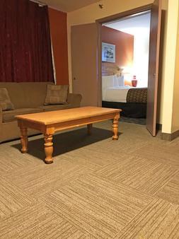 美洲最佳價值行政套房安克雷奇機場酒店 - 安克拉治 - 安克雷奇 - 客廳