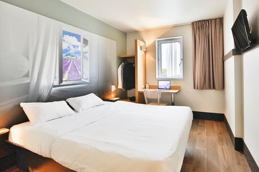 B&b Hôtel Montelimar Nord - Les Tourrettes - Bedroom