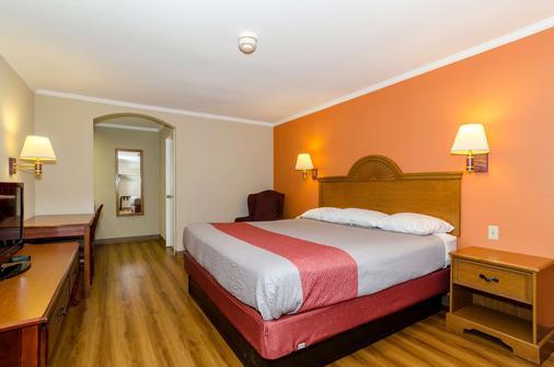 紐華克 6 號汽車旅館 - 紐華克 - 紐瓦克 - 臥室