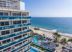 Ocean Sky Hotel and Resort - Fort Lauderdale - Soveværelse