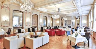 Heliopark Bad Hotel Zum Hirsch - באדן-באדן - מסעדה