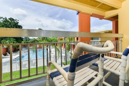 美洲最有價值酒店 - 薩拉索塔市中心 - 沙拉索塔 - 薩拉索塔 - 陽台
