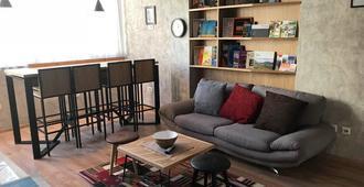 Hostel Boulevard Prishtina - Pristina - Living room