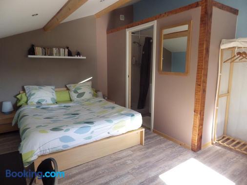 chez gus - Ars-sur-Formans - Bedroom