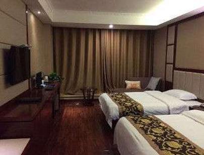 Super 8 by Wyndham Xuzhou Pei Xian Jiu Long Cheng - Zhuzhai - Bedroom