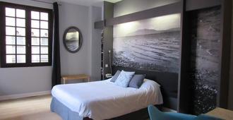 Hôtel De La Loge - פרפיניאן - חדר שינה