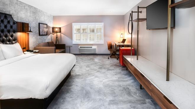 Hollywood Inn Suites Hotel - Los Angeles - Bedroom