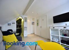Appartement 'Plaisir iodé' - 50m Front de Mer - Berck - Sala de estar