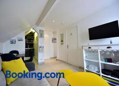 Appartement 'Plaisir iodé' - 50m Front de Mer - Berck - Wohnzimmer