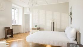 Caffè Dell'Arte Boutique Rooms - Locarno - Camera da letto