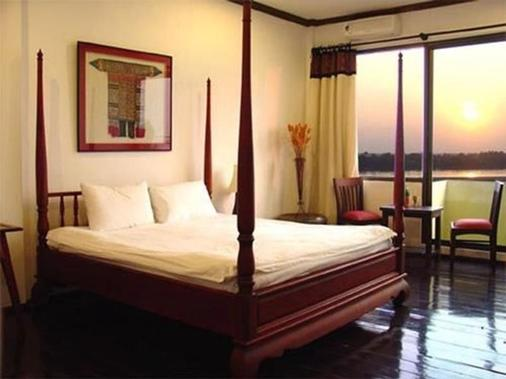 Inter City Boutique Hotel - Vientiane - Makuuhuone