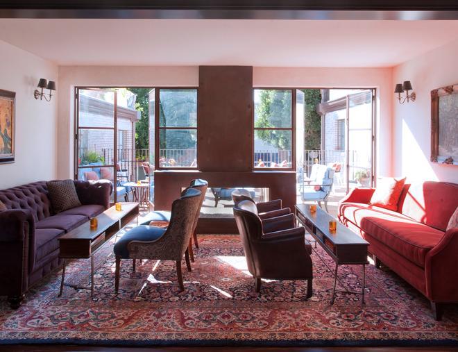 Granada Hotel & Bistro - Сан-Луис-Обиспо - Гостиная