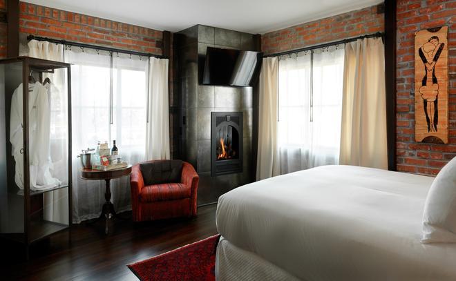 Granada Hotel & Bistro - Сан-Луис-Обиспо - Спальня