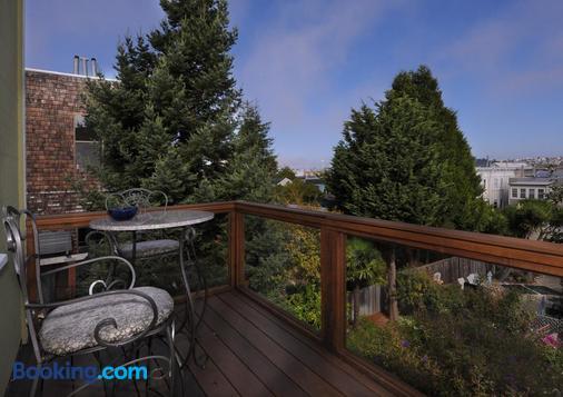 Noe's Nest Bed and Breakfast - San Francisco - Balcony